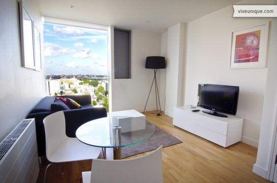 Designer apartment in King's Cross, London.