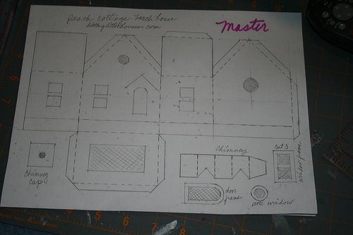 Glitter house patterns copy of the master pattern i for House of patterns