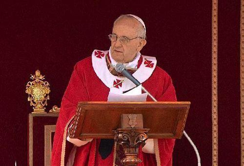 TEXTO COMPLETO: Homilía del Papa Francisco en Misa por Domingo de Ramos 2013