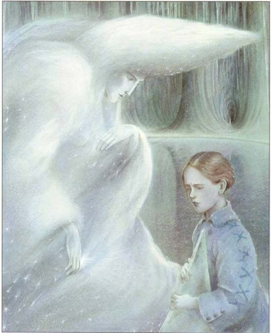 From The Snow Queen.  Ill. by Angela Barrett