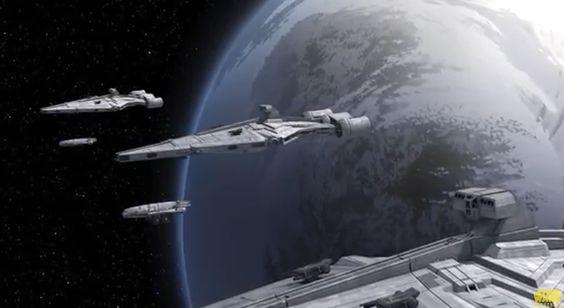 The Imperial blockade.