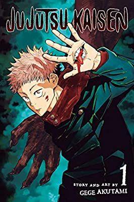 Amazon Com Jujutsu Kaisen Vol 1 1 9781974710027 Akutami Gege Books Manga Covers Jujutsu Manga