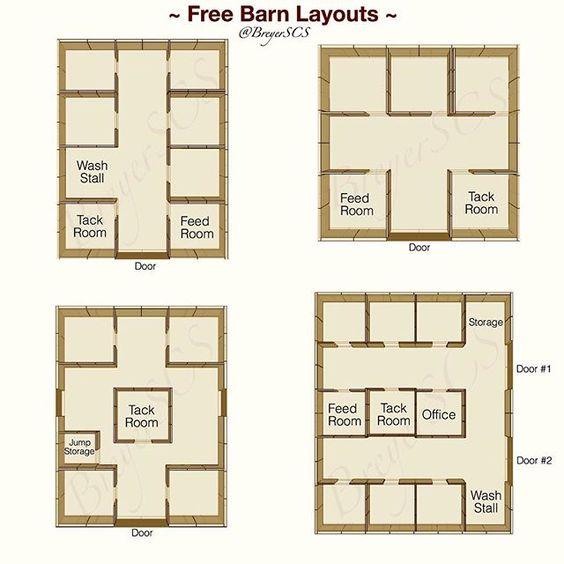 Instagram media breyerscs tutorials free barn layout for Tack shed plans