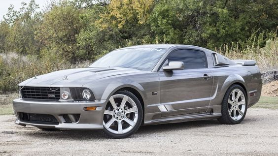 2005 Ford Mustang Saleen S281 Sc Ford Mustang Saleen 2005 Ford Mustang Muscle Cars Mustang