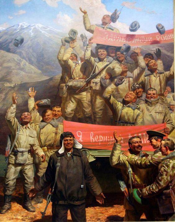 Essay soviet afghan war