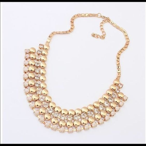 ethnic sets classic necklace kundan elegant gold women chic set necklaces plated