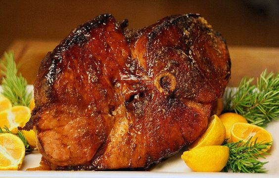 Christmas!  Honey and Brown Sugar Crusted Ham by megan_pires2000, via Flickr