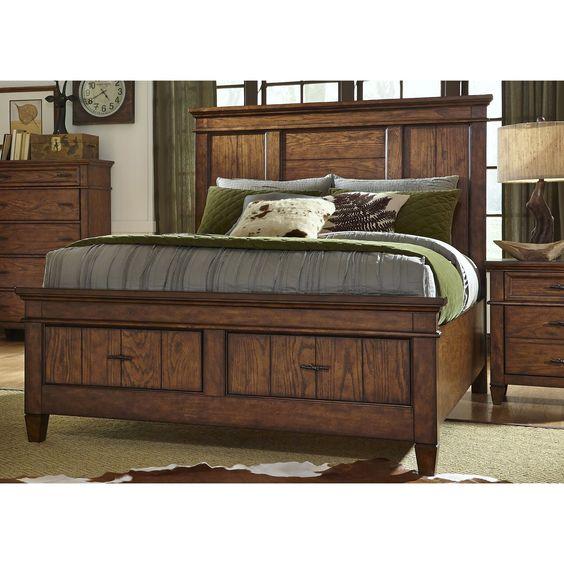 Liberty Rocky Mountain Whiskey Storage Bed Set