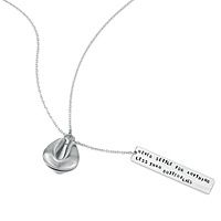 """""""Never settle for anything less than butterflies."""" www.uncommongoods.com (FORTUNE COOKIE LARIAT NECKLACES)"""