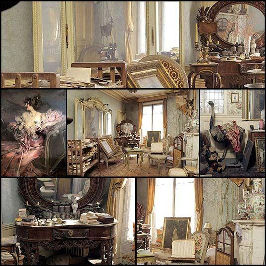 The Abandoned Apartment Of Madame De Florian In Paris