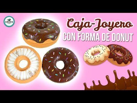 CAJA/JOYERO en forma de DONUT | JUEVES DE TUTODREEN - YouTube