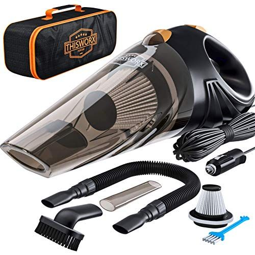 Thisworx For Twc 01 Car Vacuum Now 21 27 Was 31 90 In 2020 Portable Vacuum Cleaner Car Vacuum Portable Vacuum
