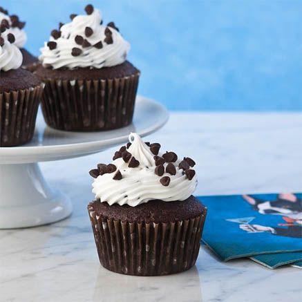 Gluten Free Chocolate Chocolate Chip Cupcakes