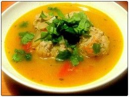 Oat Bran Turkey (or chicken) Meatball Soup (Suitable for PV days for Cruise and Consolidation phases of the Dukan Diet)
