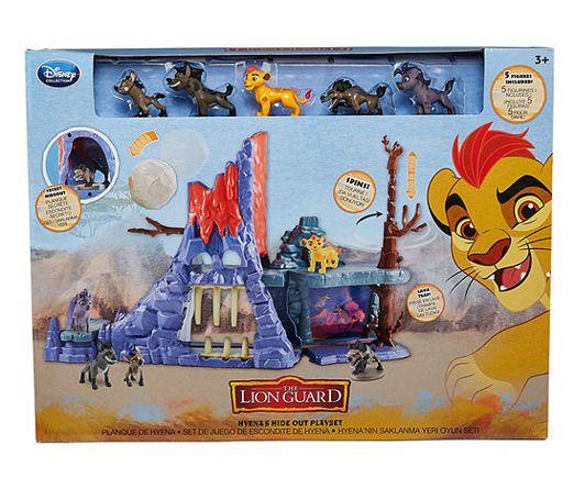 with Janja Figure Just Play Disney Junior The Lion Guard Hyenas Hideout Playset