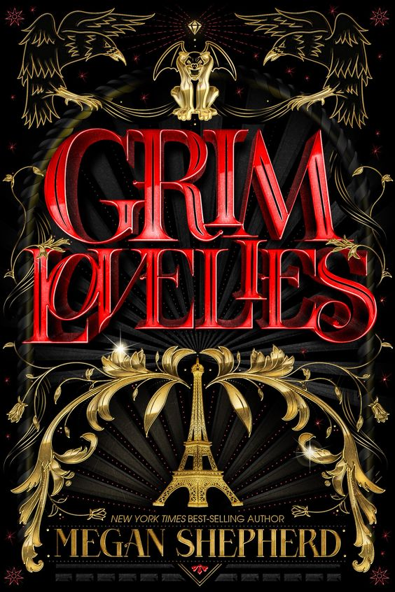 #CoverReveal Grim Lovelies (Untitled, #1) by Megan Shepherd