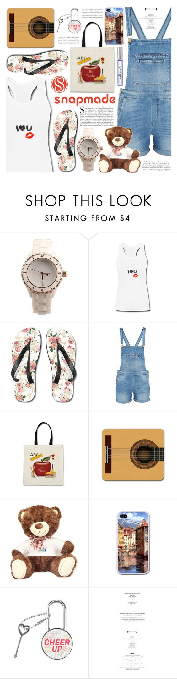 """""""Snapmade Cute Collection"""" by gorgeautiful ❤ liked on Polyvore featuring 7 For All Mankind, Kershaw, Kate Spade, BackToSchool, casualoutfit, accessories and snapmade"""