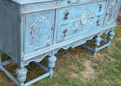 lovely buffet, painted furniture