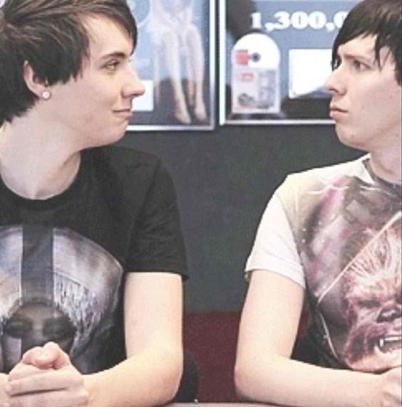 dan and phil dating each other How well do you know phil and dan  they're gay for each other,  dan is dating callie phil is a loner both of them are forever alone.