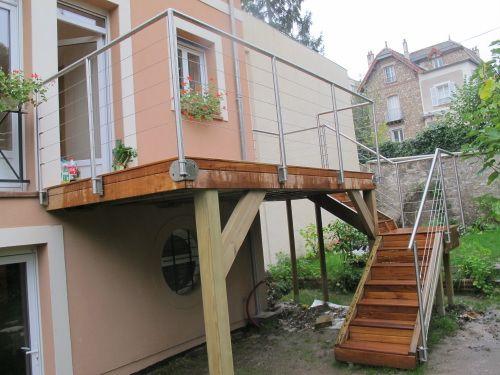Terrasse Sur Pilotis En Teck Maison Isolation Par Exterieur Terrasse Sur Pilotis Terrasse Teck Terrasse Bois