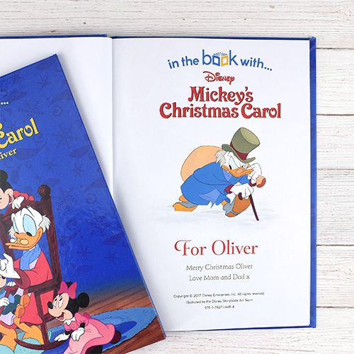 Disney Mickey S Christmas Carol Personalized Storybook With