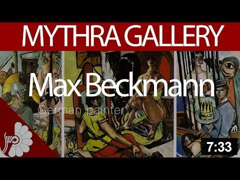 Friday Morning Lecture & Tour Series   German Expressionist Art 1905-1937 - YouTube