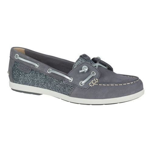 Sperry Top-Sider Women's Ivyfish Sparkle Grey Boat Shoe