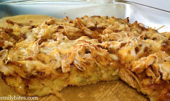 Chicken tamale bake: