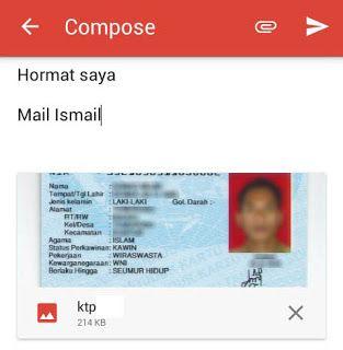 Pin On Cara Mengirim Cv Lewat Email
