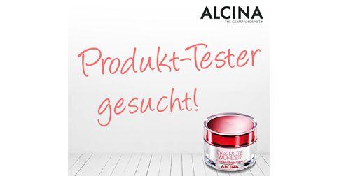 Alcina Produkttester Gesucht
