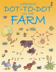 Dot-to-dot on the farm  Attractively illustrated and full of interesting shapes to join together Puzzles are accompanied by an easy-to-follow adventure Superb value activity books Encourages children to develop number skills and practise drawing This bright, friendly activity book is both entertaining and educational. Young children will have lots of fun joining the dots and finding the hidden pictures - and developing their number skills and pencil control at the same time.