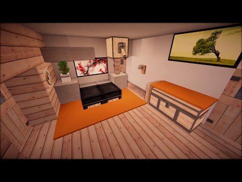 150 Minecraft Modernes Haus Einrichten Folge 3 Youtube Haus