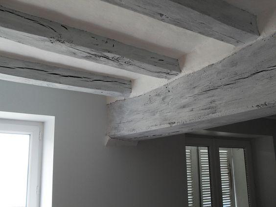 Deco peinture maison 2 last tweets about peinture poutre id es couleur - Idee deco plafond poutre ...