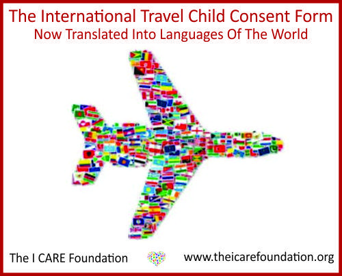 US Outbound Abduction Rate Declines The I CARE Foundation - passport consent forms