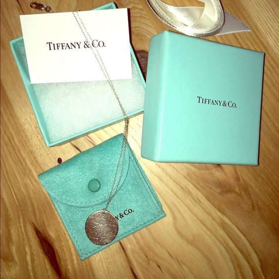 Tiffany &Co necklace Authentic Silver pendant with chain Tiffany & Co. Jewelry Necklaces