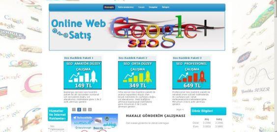 Onlinewebsatis Kurumsal Seo by onlinewebsatis via slideshare