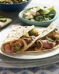 Grilled Steak Tacos with Avocado Salsa. This is or of our all time ...
