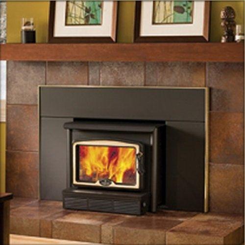 Osburn 1600 High Efficiency Wood Burning Fireplace Insert With Images Wood Burning Fireplace Inserts Wood Fireplace Inserts