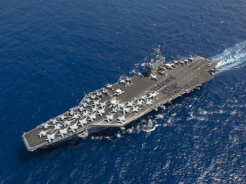 Nothing cooler then an aircraft carrier
