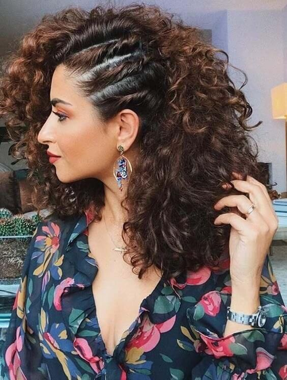 Home Blend Of Bites In 2020 Curly Hair Styles Naturally Curly Hair Styles Medium Length Hair Styles