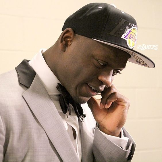 @Juliusrandle30 getting the call from GM Mitch Kupchak and the basketball ops department.