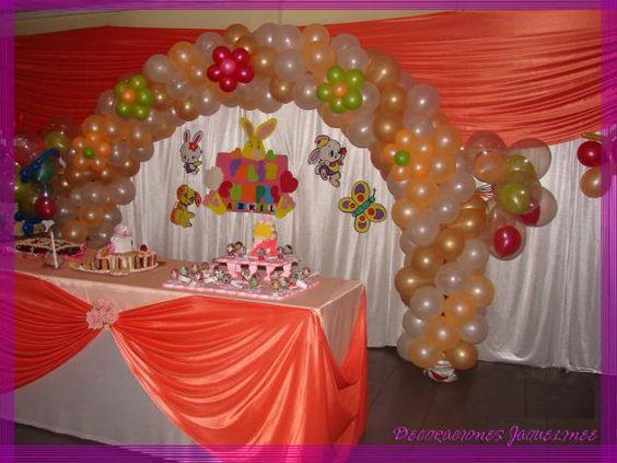 Decoracion de salon de fiestas cump e de diego - Decoraciones de salon ...