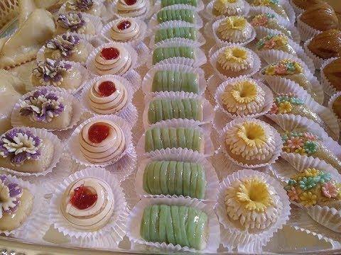 جديد حلويات اللوز Youtube Mini Cupcakes Dessert Recipes Desserts