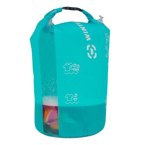 Portable Camping Or Backpacking Wash Bag For Laundry Water And Soap Pieds