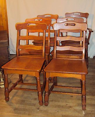 maple wood dining chairs | Winda 7 Furniture