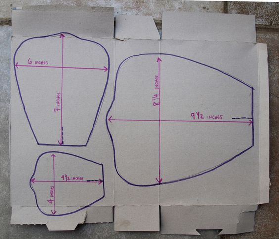 Pattern of strama paper