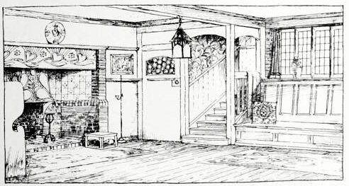 An Artist's Housedesigned by Mackay Hugh Baillie Scott. 1900…