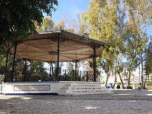 El templete del Parque de Doña Sinforosa.