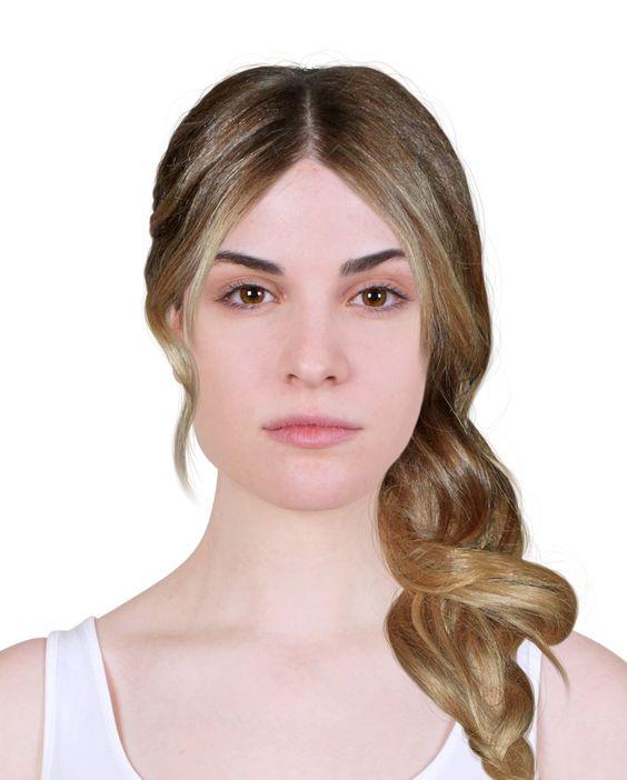 Yuze Gore Sac Modelleri Bana Hangi Sac Rengi Yakisir Resimli Sac Tasarim Uygulamasi Sac Deneme Palette Sac Rengi