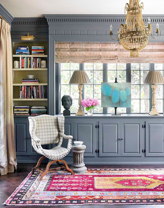 home library/ office idea